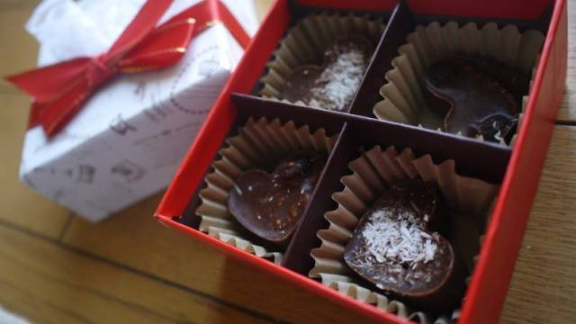healthy chocolate val day