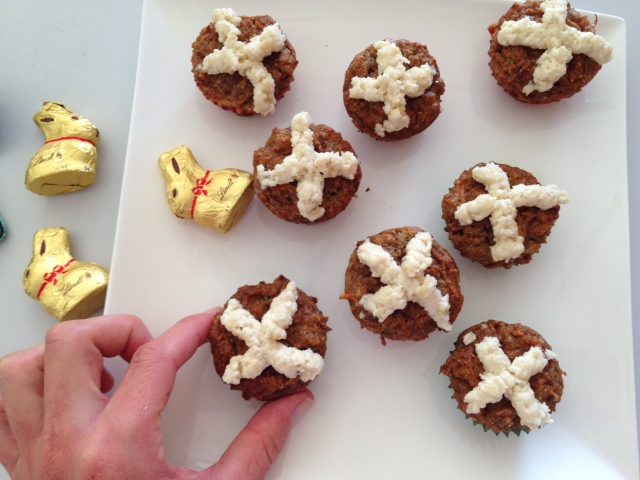 Savvy - Carrot Cake Cross Buns